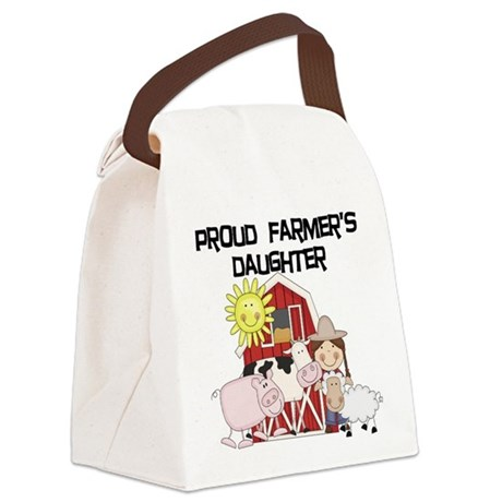 farmerdaughter.png Canvas Lunch Bag
