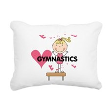 GYMNASTICSFIVE.png Rectangular Canvas Pillow