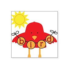 "goodnessfunbird.png Square Sticker 3"" x 3"""