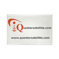 Cute Satellite tv Rectangle Magnet