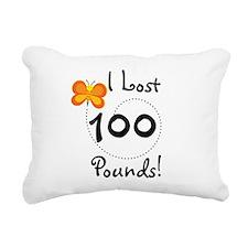 BUTFLY100POUNDS.png Rectangular Canvas Pillow