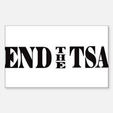 END THE TSA Decal