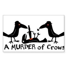 A Murder of Crows Decal