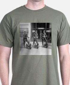 Vintage Postmen On Scooters T-Shirt