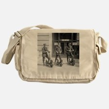 Vintage Postmen On Scooters Messenger Bag