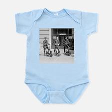 Vintage Postmen On Scooters Infant Bodysuit