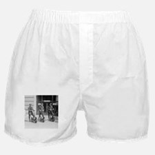 Vintage Postmen On Scooters Boxer Shorts