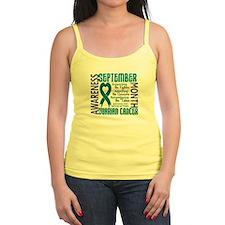 Ovarian Cancer Awareness Month Jr.Spaghetti Strap
