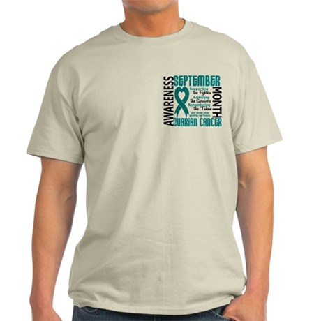 Ovarian Cancer Awareness Month Light T-Shirt