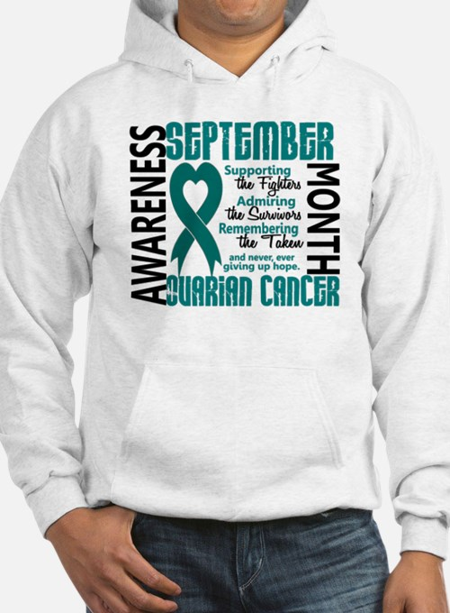 Ovarian Cancer Awareness Month Hoodie