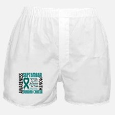 Ovarian Cancer Awareness Month Boxer Shorts