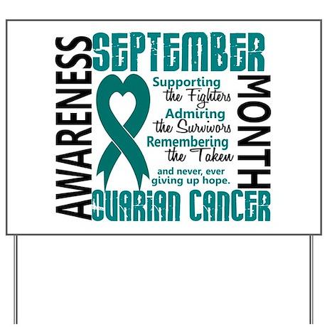 Ovarian Cancer Yard Signs | Custom Yard & Lawn Signs - CafePress