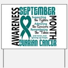 Ovarian Cancer Awareness Month Yard Sign