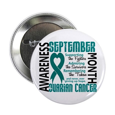 "Ovarian Cancer Awareness Month 2.25"" Button (10 pa"