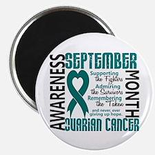 "Ovarian Cancer Awareness Month 2.25"" Magnet (100 p"