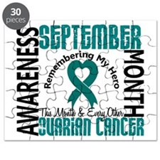 Ovarian Cancer Awareness Month Puzzle