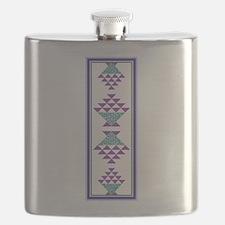 Flower Pot Quilt Flask