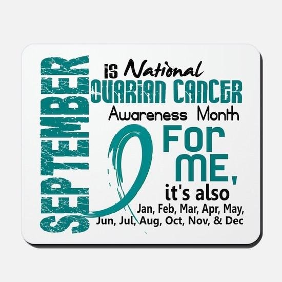 Ovarian Cancer Awareness Month Mousepad