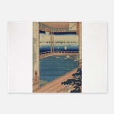 Moon-viewing point - Hiroshige Ando - 1857 5'x7'Ar