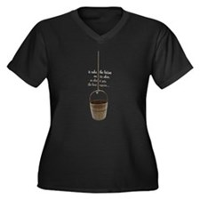 IT RUBS THE LOTION ON ITS SKIN Women's Plus Size V
