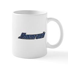 SHAMROCK LOGO 3 BLUE Mug