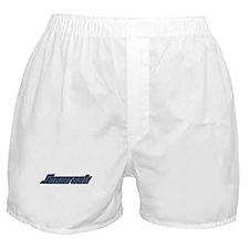 SHAMROCK LOGO 3 BLUE Boxer Shorts