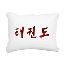 Korean Tae Kwon Do Rectangular Canvas Pillow