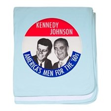 KENNEDY / JOHNSON baby blanket
