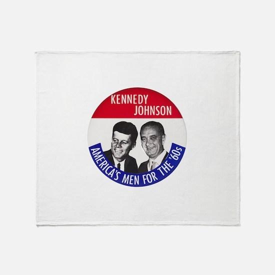 KENNEDY / JOHNSON Throw Blanket