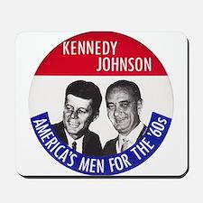 KENNEDY / JOHNSON Mousepad