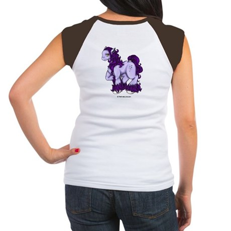 Purple Panormo Women's Cap Sleeve T-Shirt