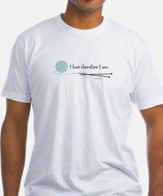 """I Knit Therefore I Am"" Shirt"