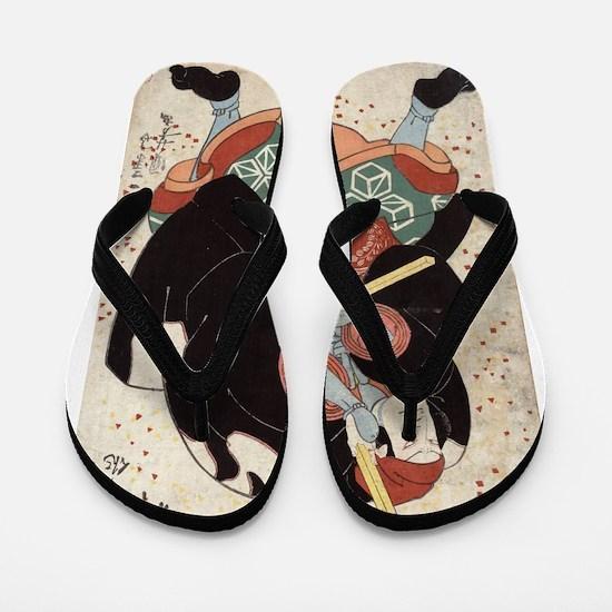 Naniwa Jirosaku - Kuniyoshi Utagawa - 1830 Flip Fl