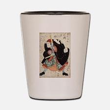 Naniwa Jirosaku - Kuniyoshi Utagawa - 1830 Shot Gl