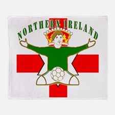 Northern Ireland Football Celebration Stadium Bla