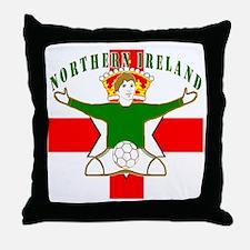 Northern Ireland Football Celebration Throw Pillow