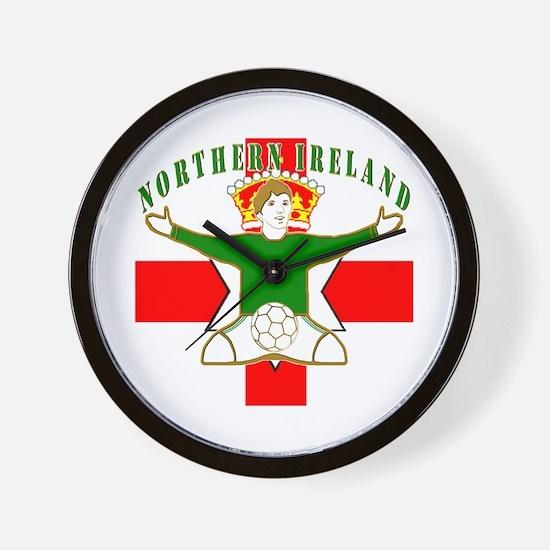 Northern Ireland Football Celebration Wall Clock