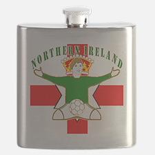 Northern Ireland Football Celebration Flask