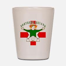 Northern Ireland Football Celebration Shot Glass