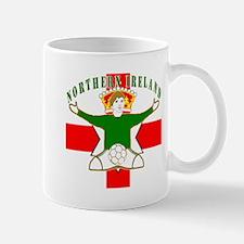 Northern Ireland Football Celebration Mug
