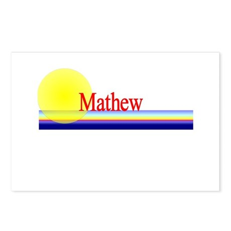 Mathew Postcards (Package of 8)