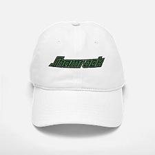 SHAMROCK LOGO 3 GREEN Baseball Baseball Cap