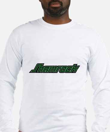 SHAMROCK LOGO 3 GREEN Long Sleeve T-Shirt