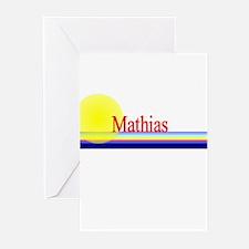Mathias Greeting Cards (Pk of 10)