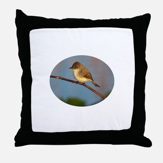 Phoebe on Stage Throw Pillow
