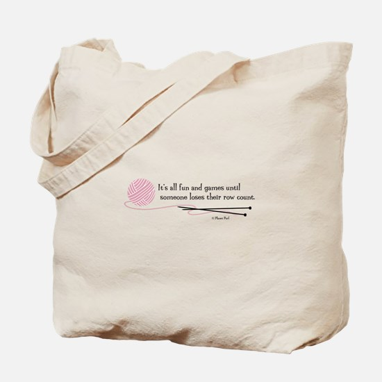 """Fun and Games"" Tote Bag"