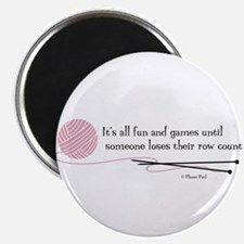 """""""Fun and Games"""" 2.25"""" Magnet (10 pack)"""
