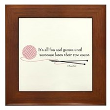 """""""Fun and Games"""" Framed Tile"""