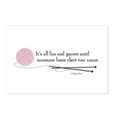 """Fun and Games"" Postcards (Package of 8)"
