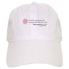 """Fun and Games"" Baseball Cap"